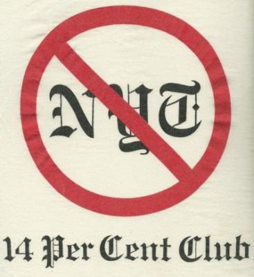No NYT: 14 Per Cent Club