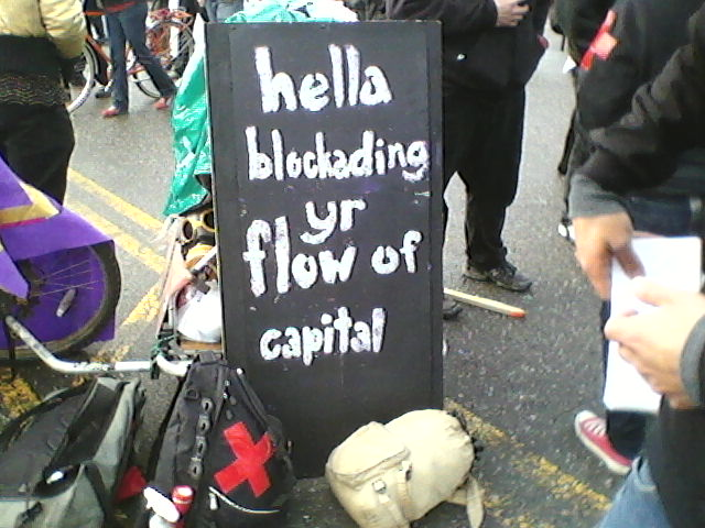 hella blockading yr flow of capital
