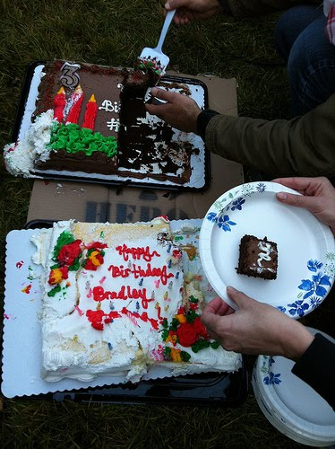 Happy Birthday, Bradley Manning! birthday cake