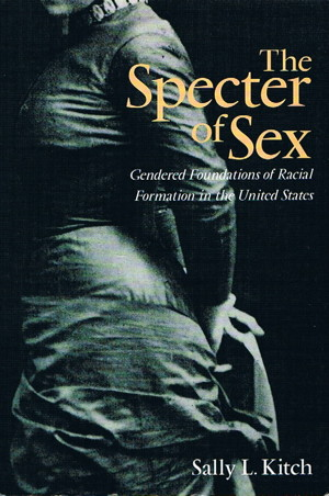 Specter of Sex book cover: woman in 19th century dress
